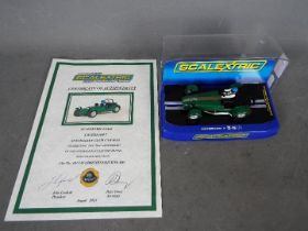 Scalextric - Limited edition Caterham 7 Australian Cub Car made to celebrate the 22nd anniversary