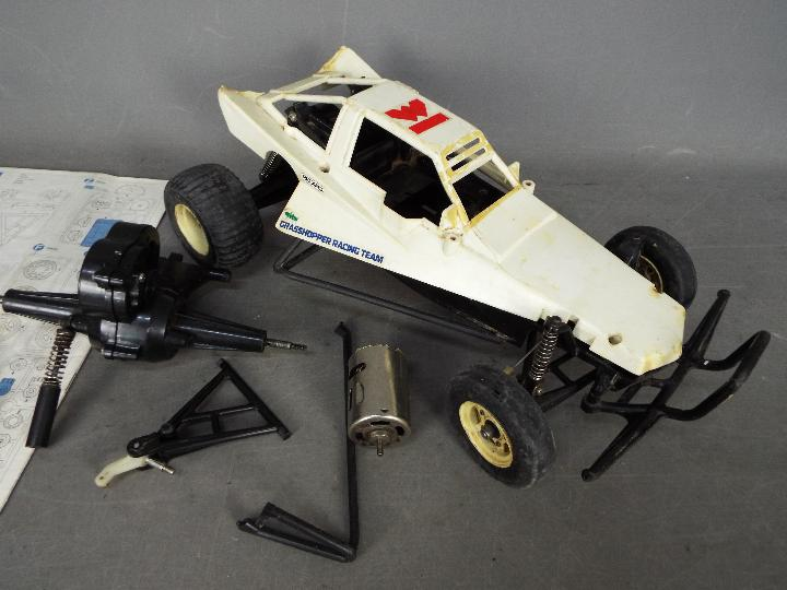 Tamiya - A part assembled and incomplete vintage 1984 release Tamiya 1:10 scale R/C 'The - Image 2 of 3