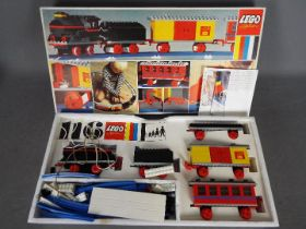 LEGO - A boxed vintage Lego #116 Starter Train Set with Motor.