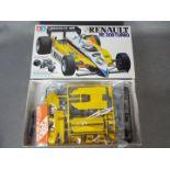 Tamiya - A boxed vintage 1984 Tamiya 1:20 scale 'Grand Prix Collection Series' '#18 Renault RE 30B