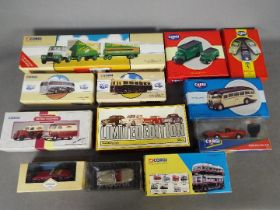 Withdrawn - Corgi, Corgi Classics - A collection of 12 boxed diecast vehicles from Corgi.