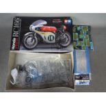 Tamiya - A boxed 2009 release Tamiya 1:12 scale 'Motorcycle Series Premium Model' Honda RC166 GP