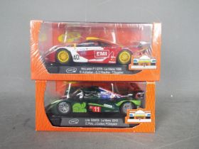 Slot-it - 2 x car, a McLaren F1GTR in 1998 Le Mans livery and a Lola B09/60 in 2010 Le Mans livery.