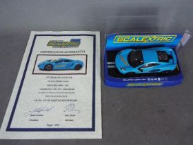 Scalextric - Limited Edition McLaren MP4-12C Australian Club Car made to celebrate the 21st
