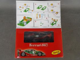Slot-it - A Ferrari F40 self assembly model kit # KF02C The model appears Mint and the parts are