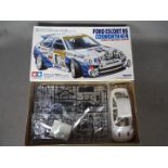 Tamiya - A boxed 1994 Tamiya #24144 1:24 scale Ford Escort RS Cosworth 4x4 '94 Monte Carlo Rally