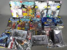 Playmates, Character Online, Micro Machines, Marvel - A collection of Action Figures, and toys.