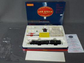 Hornby - an OO gauge LIVE STEAM 4-6-2 locomotive and tender, op no 60096 'Papyrus', class A3,