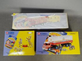 Corgi Classics - 3 x boxed Chipperfields related items,