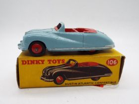 Dinky Toys - A boxed Dinky Toys #106 Austin Atlantic Convertible.