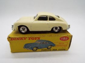 Dinky Toys - A boxed Dinky Toys #182 Porsche 356A Coupe.