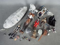 Galoob - Tonka - Kenner - Star Wars - A collection of Star Wars items including AT-AT,