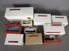Matchbox Yesteryear - Lledo - A group of 11 x boxed models including # YS-43 Busch Self Propelled