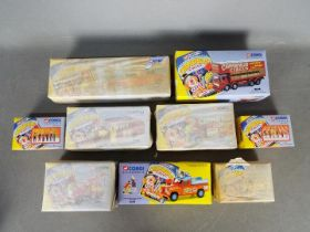 Corgi Classics - A collection of 9 x boxed Chipperfields models including # 97887 Bedford O