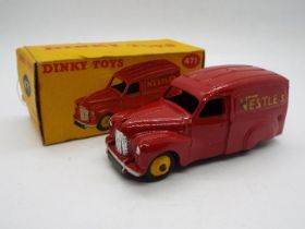 Dinky Toys - A boxed Dinky Toys #471 Austin Van 'Nestles'.