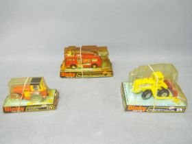 Dinky - A collection of 3 x boxed vehicles, # 279 Aveling-Barford Diesel Roller,