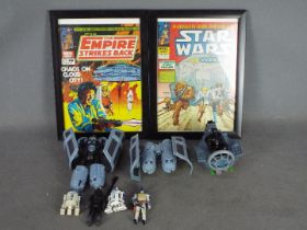 Hasbro - Kenner - Marvel - A collection of Star Wars items including loose figures,