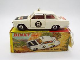 Dinky Toys - A boxed Dinky Toys #212 Ford Cortina Rally Car.