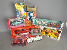 Corgi - Tonka - Peter Pan Playthings - A lot of vintage cars and toys including # 1009 Corgitronics
