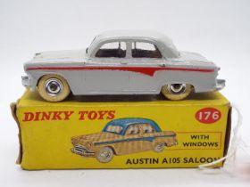 Dinky Toys - A boxed Dinky Toys #176 Austin A105 Saloon.