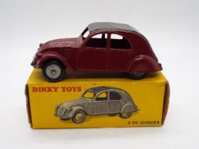 French Dinky Toys - A boxed French Dinky Toys #535 Citroen 2CV.
