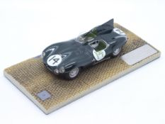 MPH Models, Tim Dyke - A boxed MPH Models #1330 Jaguar D Type Le mans 1954 - 2nd Overall A.Rolt / D.