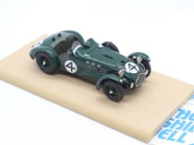 MPH Models - # 1238 - A boxed 1:43 scale resin model of an Allard J2 as raced at Le Mans in 1950 by