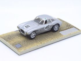 MPH - # 1364 - A boxed 1:43 scale resin model of an OSCA MT4 Coupe as driven in th 1953 Le Mans by