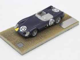 MPH Models - # 1301 - A boxed 1:43 scale resin model Talbot-Maserati Le Mans car from 1957 as