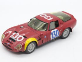 Provence Moulage - MPH Models - # 373 - A boxed 1:43 scale resin Alfa Rome GTZ 2 as driven to a 4th