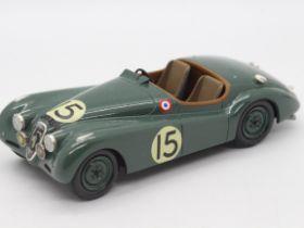 MPH Models, Tim Dyke - A boxed MPH Models #710 Jaguar XK120 Le Mans 1950.