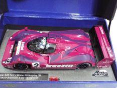 Le Mans - Slot Car in 1:32 Scale - Jaguar XJR 14 No 3 Winner Nurburgring 1991.