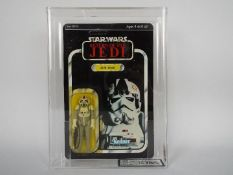 """Star Wars, Kenner - A graded Kenner 1983 Star Wars ROTJ 'AT-AT Driver' 3 3/4""""action figure."""
