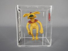 Star Wars - A loose vintage and graded 1983 Star Wars ROTJ 3 3/4 action figure 'Salacious Crumb'.