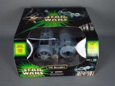 Star Wars, Hasbro - A boxed 2001 Hasbro Star Wars 'Power of the Jedi' TIE Bomber.