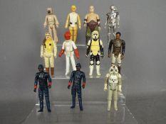 Star Wars, Kenner, Hasbro, LFL, CPG, GMFGI - A collection of 11 loose vintage Star Wars figures.