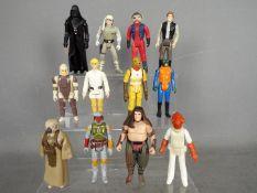 Star Wars, Kenner, Hasbro, LFL, CPG, GMFGI - A battery of 12 loose vintage Star Wars figures.