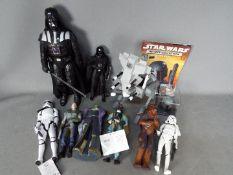Star Wars - Hasbro - Applause - A group of 6 x Applause figures, 1 x Hasbro, 1 x Thinkway.