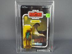 "Star Wars, Kenner - A rare graded Kenner 1980 Star Wars TESB 'Hammerhead' 3 3/4"" action figure."