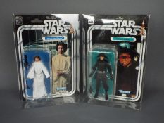 """Star Wars, Kenner - Two carded Kenner Star Wars 40th Anniversary 6"""" action figures,"""
