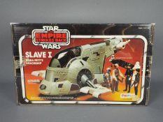 Star Wars, Palitoy - A boxed vintage Palitoy Star Wars TESB 'Slave I Boba Fett's Slaveship'.