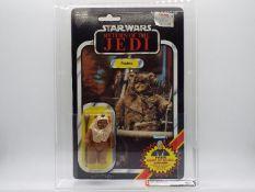 "Star Wars, Kenner - A graded Kenner 1984 Star Wars ROTJ Paploo 3 3/4"" action figure."