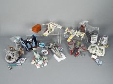 Hasbro - A collection of 8 x unboxed Crossovers Transformers including Clone Pilot, Darth Vader,