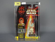 Star Wars - Hasbro - A carded Episode I Obi-Wan Kenobi 3.