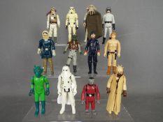 Star Wars, Kenner, Hasbro, LFL, CPG, GMFGI - A team of 12 loose vintage Star Wars figures.