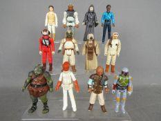 Star Wars, Kenner, Hasbro, LFL, CPG, GMFGI - A troop of 12 loose vintage Star Wars figures.