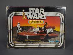 Star Wars, Kenner - A boxed vintage 1983 Star Wars 'Land Speeder'.