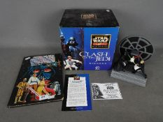 A boxed, limited edition, Star Wars Classic Collectors Series Clash Of The Jedi diorama,