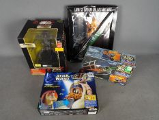 Hasbro - Galoob - Tiger Electronics - A group of 4 x items including Episode I Destroyer Droid Room