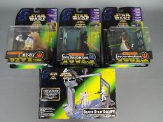 Kenner - 4 x boxed / carded items including # 69644 Force F/X Darth Vader Dark Vador figure with